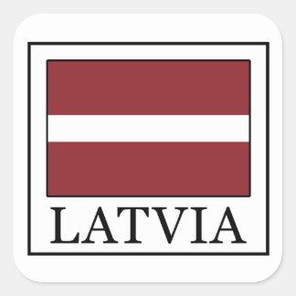Etiqueta de Latvia