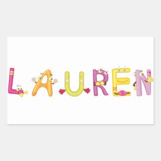 Etiqueta de Lauren