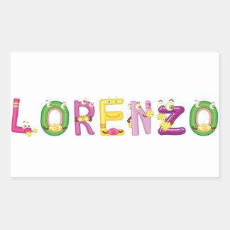 Etiqueta de Lorenzo