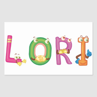 Etiqueta de Lori
