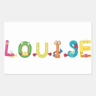 Etiqueta de Louise