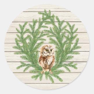 Etiqueta de madeira rústica da foto do país