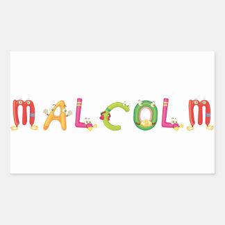 Etiqueta de Malcolm