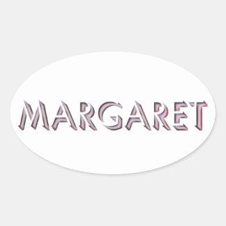 Etiqueta de Margaret