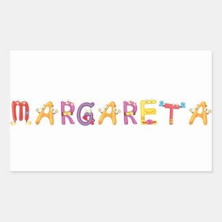Etiqueta de Margareta