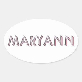 Etiqueta de Mary Ann