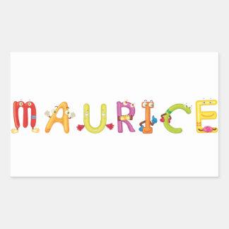 Etiqueta de Maurício