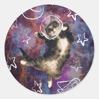 Etiqueta de Meowstronaut Kiba
