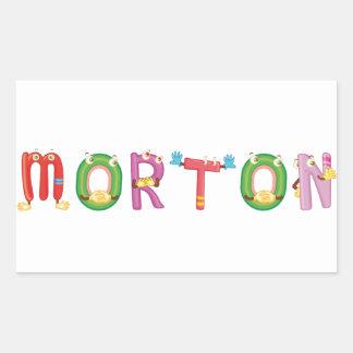 Etiqueta de Morton