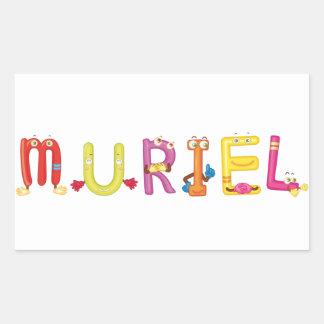 Etiqueta de Muriel