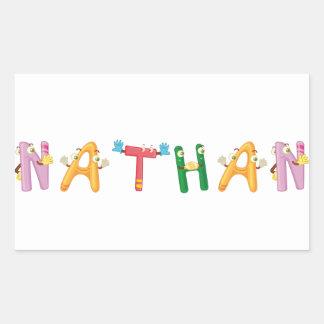 Etiqueta de Nathan