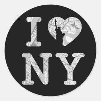 Etiqueta de New York