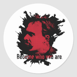 Etiqueta de Nietzsche - transformada quem você é