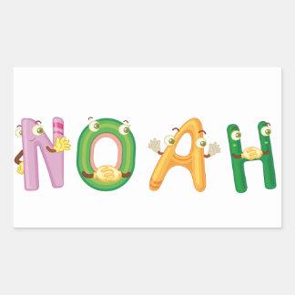 Etiqueta de Noah