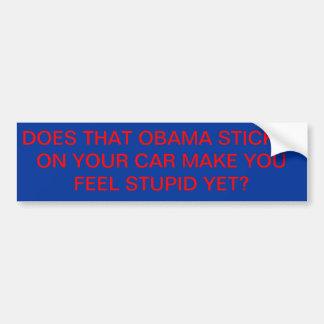 Etiqueta de Obama Adesivo Para Carro