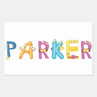 Etiqueta de Parker