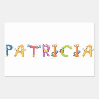 Etiqueta de Patricia