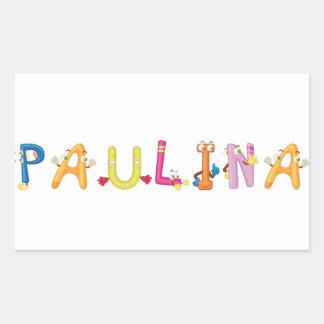 Etiqueta de Paulina