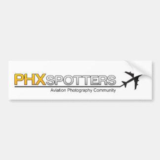 Etiqueta de PHXSpotters Bumber Adesivo Para Carro