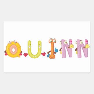 Etiqueta de Quinn