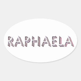 Etiqueta de Raphaela