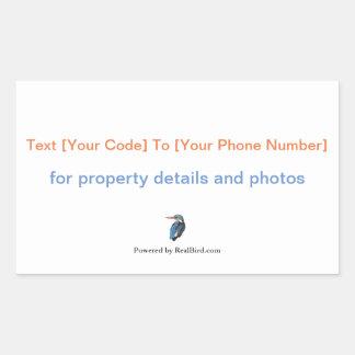Etiqueta de RealBird SMS