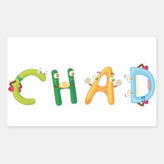 Etiqueta de República do Tchad