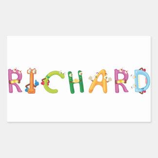 Etiqueta de Richard