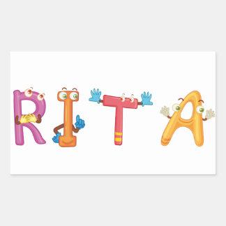 Etiqueta de Rita
