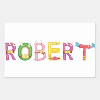 Etiqueta de Robert