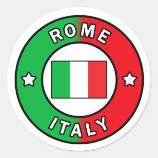 Etiqueta de Roma Italia