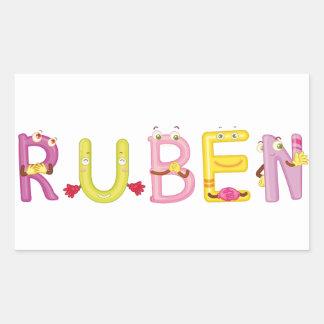 Etiqueta de Ruben