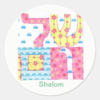 Etiqueta de Shalom