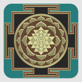 Etiqueta de Shri Yantra