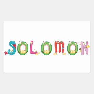Etiqueta de Solomon