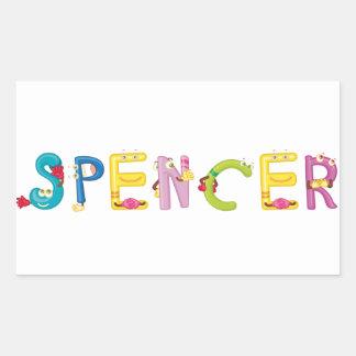 Etiqueta de Spencer