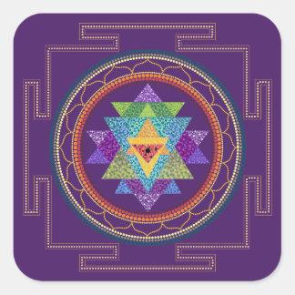 Etiqueta de Sri Yantra