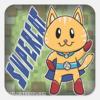 Etiqueta de SuperCat Minecats