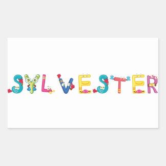 Etiqueta de Sylvester