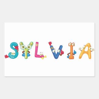Etiqueta de Sylvia