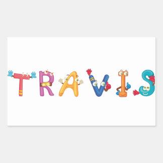 Etiqueta de Travis