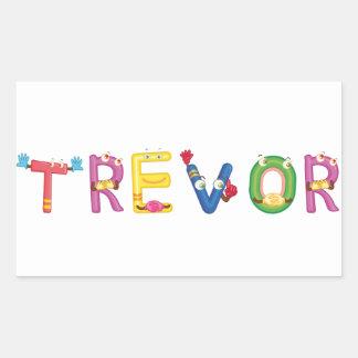 Etiqueta de Trevor