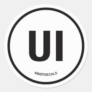 Etiqueta de UI Adesivo