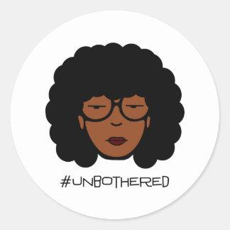 Etiqueta de Unbothered