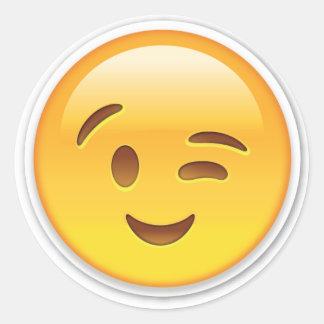 Etiqueta de Winky Emoji