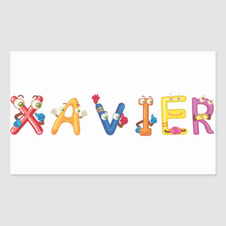 Etiqueta de Xavier