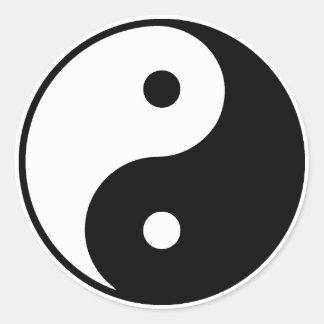 Etiqueta de Yin Yang