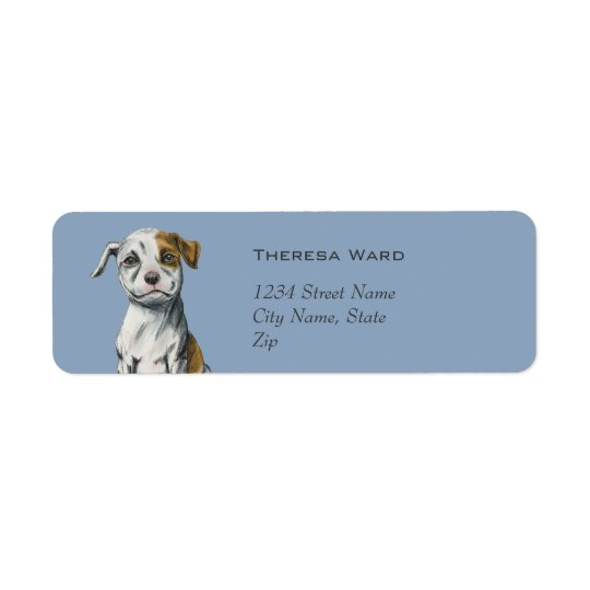 Etiqueta Desenho de assento do filhote de cachorro do