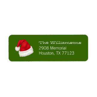 Etiqueta Divertimento e chapéu feito sob encomenda festivo