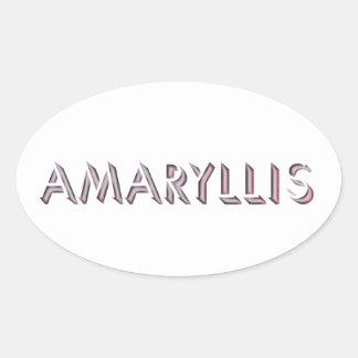 Etiqueta do Amaryllis